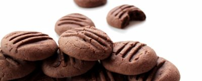 Gluténmentes csokis-kakaós keksz