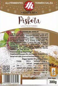 Hadarik Rita gluténmentes piskóta lisztkeverék