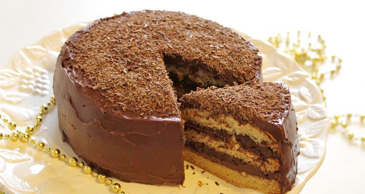 Gluténmentes csokitorta