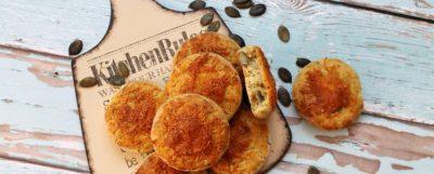 Tökmagos, sajtos gluténmentes pogácsa