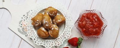 Tej-, és gluténmentes sütőporos fánk