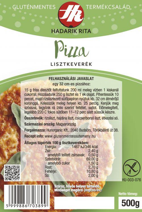Hadarik Rita gluténmentes pizza lisztkeverék