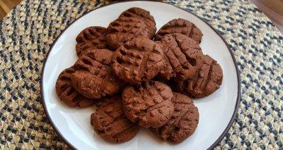 Tojásmentes, gluténmentes csokis keksz