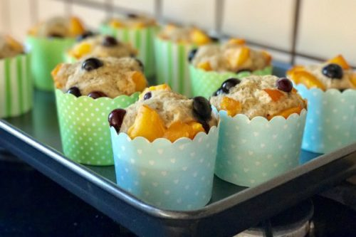 Vegyes gyümölcsös muffin