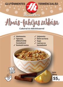 Hadarik Rita gluténmentes almás-fahéjas zabkása