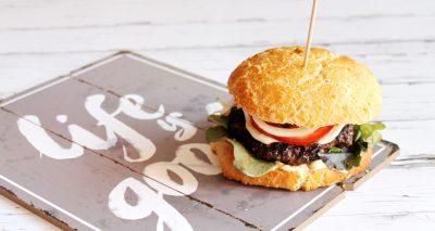 Gluténmentes hamburger
