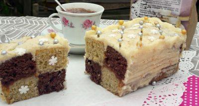 Gluténmentes Battenberg sütemény