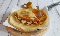 Banános-mogyorókrémes gluténmentes palacsinta