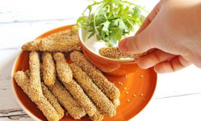 Fűszeres gluténmentes grissini